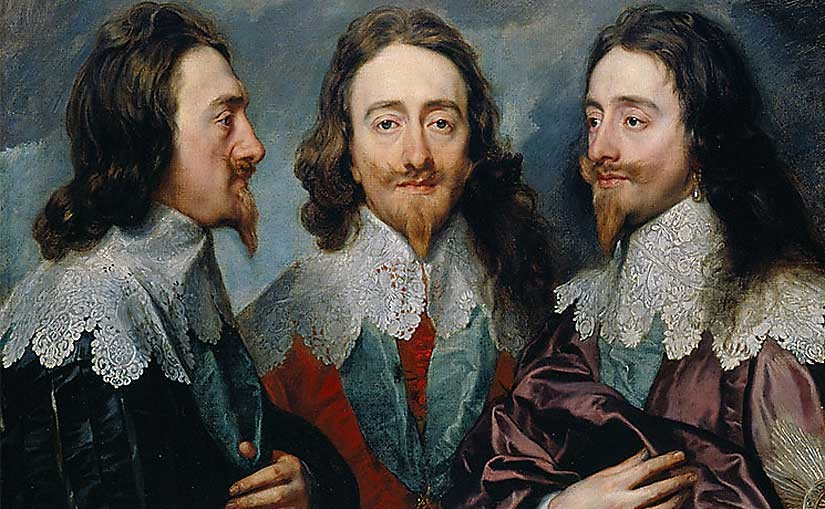 Charles I, 16th century, art, painting, civil war