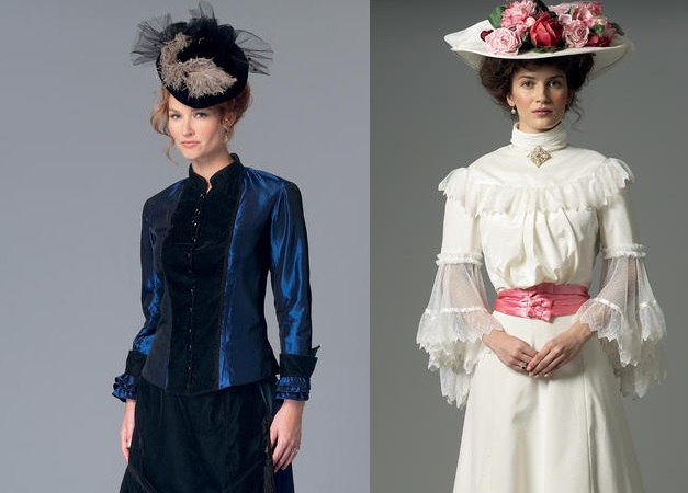 victorian costume sewing patterns butterick