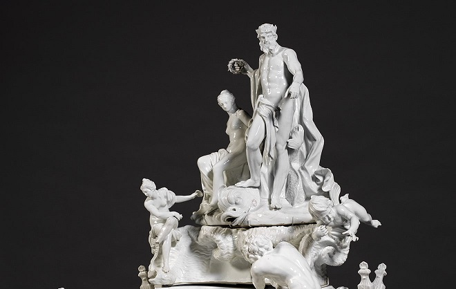 This Rose-Water Fountain Stunned 18thC Dinner Guests