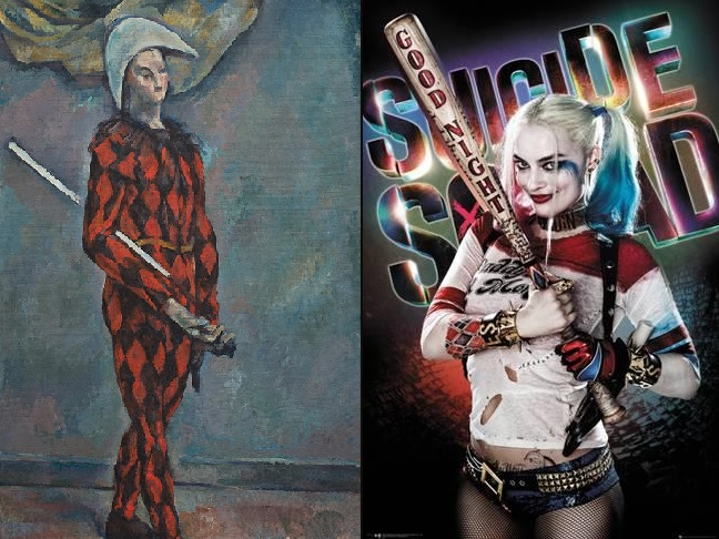 Harley Quinn Harlequin suicide squad cezanne