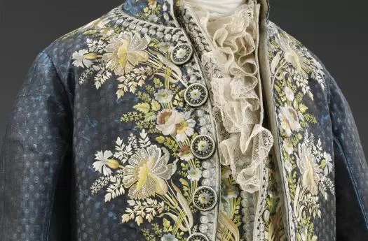 V&A 18th century silk court suit