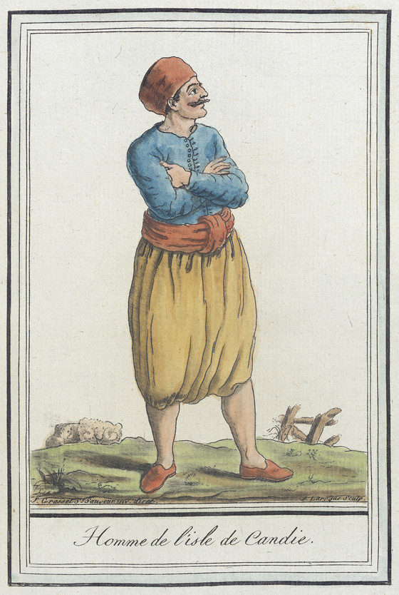 18th century Man of Crete