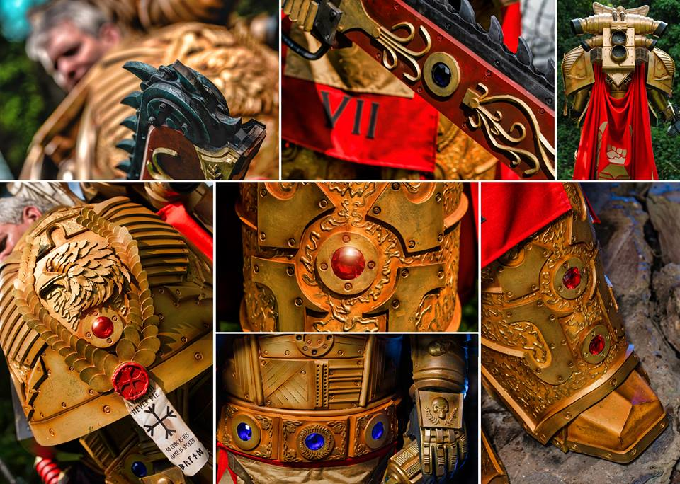 Cosplayer Unleashes Epic Warhammer 40K Space Marine Armour