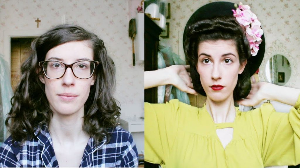 Another Clumsy GRWM - 1940s Style