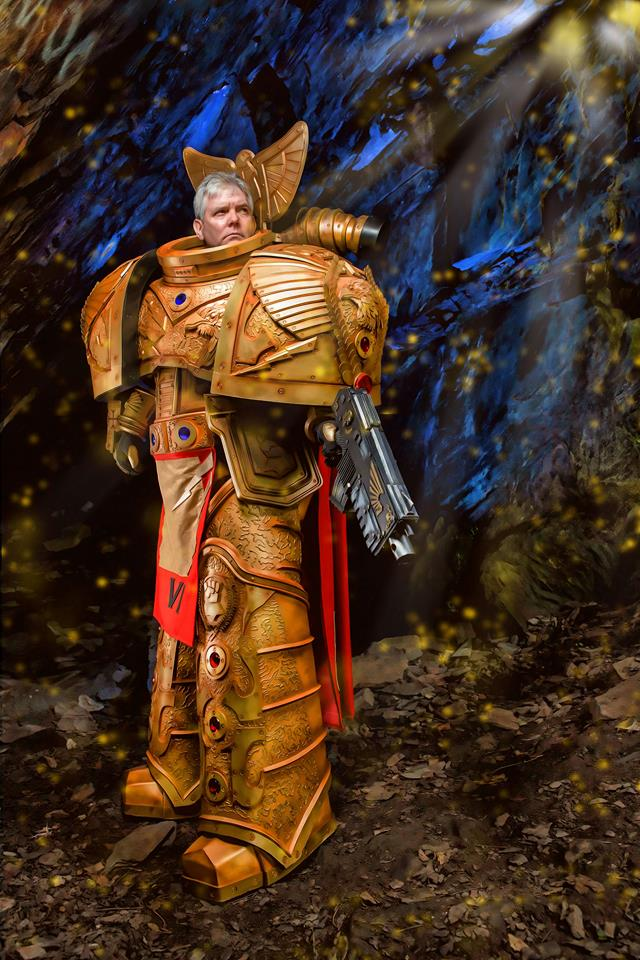 Cosplayer Unleashes Epic Warhammer 40K Space Marine Armour - The