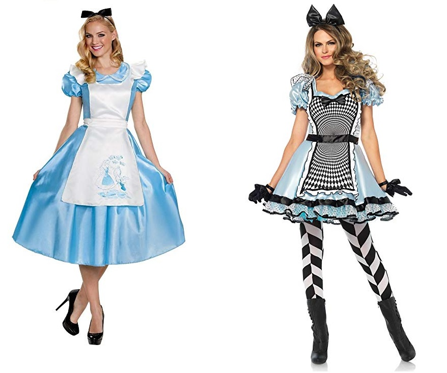 alice in wonderland costume dresses