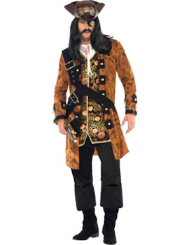 Fancy Dress - Steampunk Pirate Costume