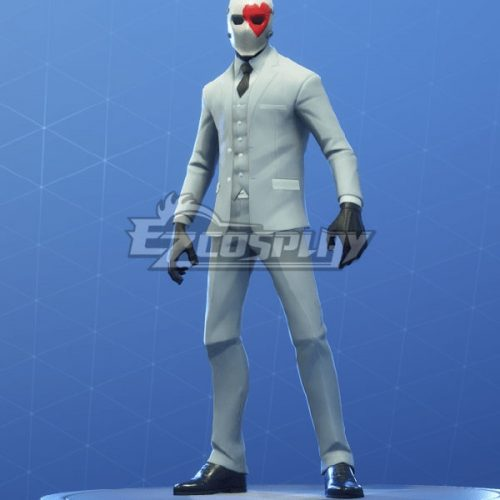 Fortnite Battle Royale Wild Card Halloween Cosplay Costume