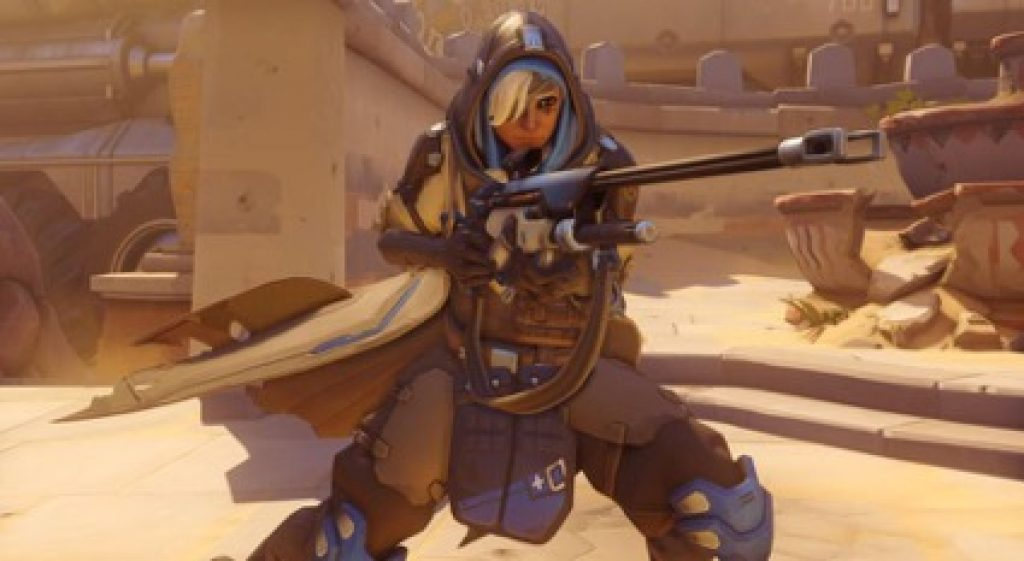 overwatch ana cosplay