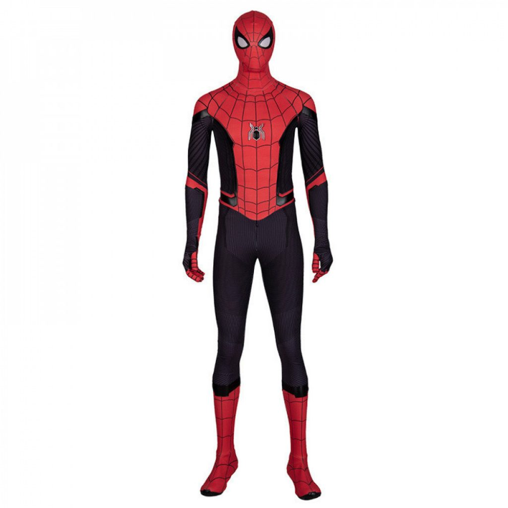 Spiderman cosplay jump suit