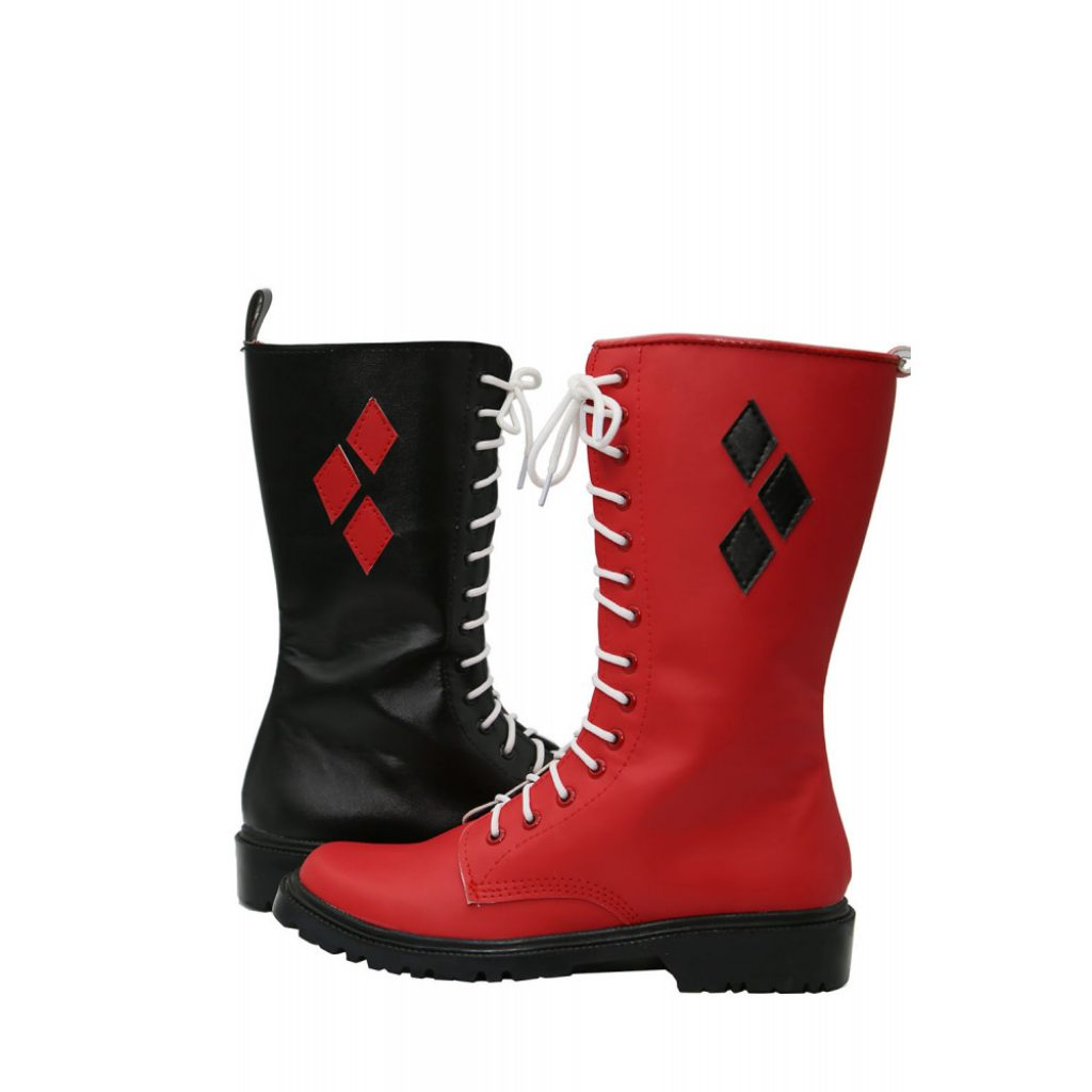 Black & Red boots
