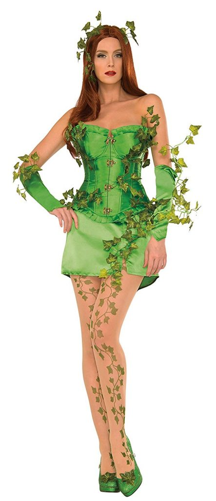 DC licensed Poison Ivy costume