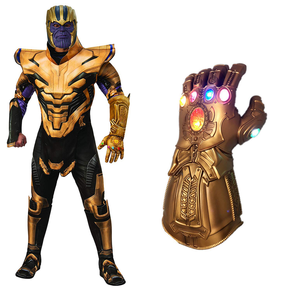 Thanos and gauntlet for my halloween costumes for 2019