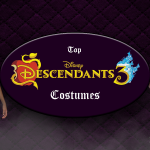 Top descendants 3 costumes banner