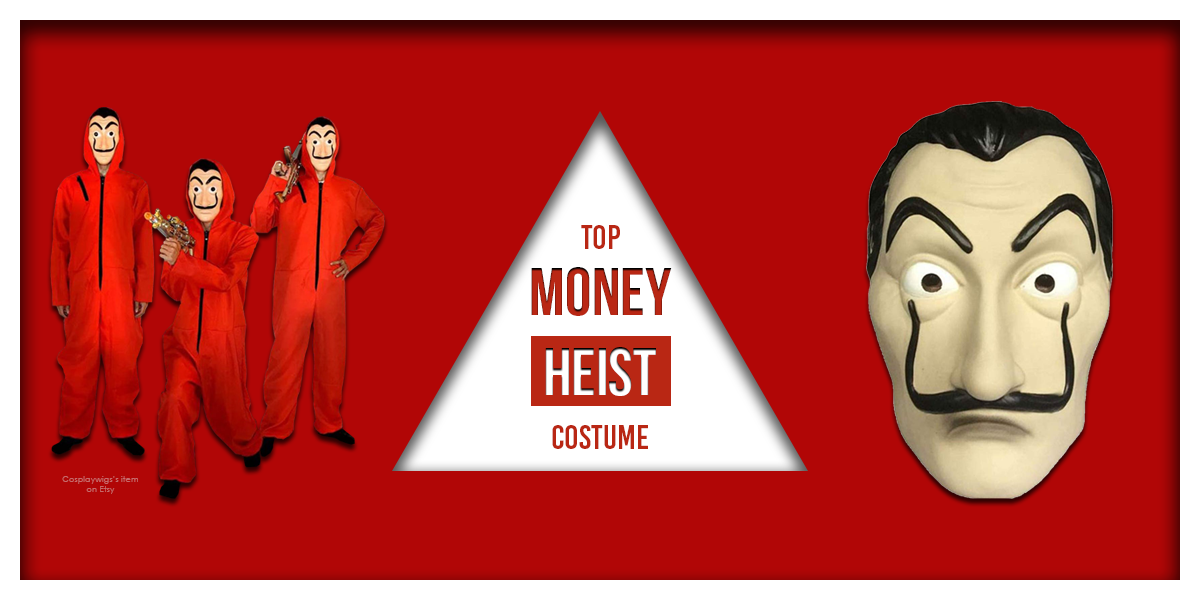 Top Money Heist Costumes banner