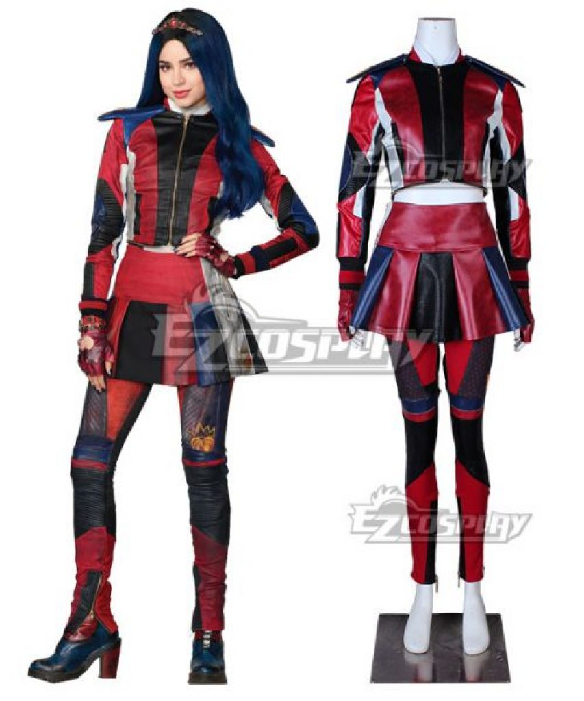 Evie Descendants 3 costume