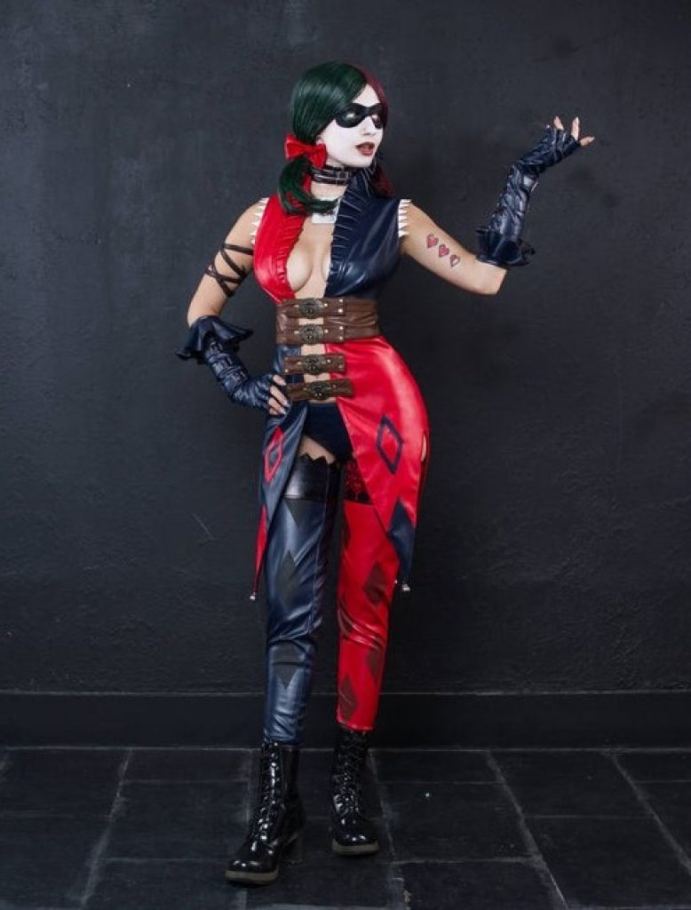 Harley Quinn cosplay gods among us