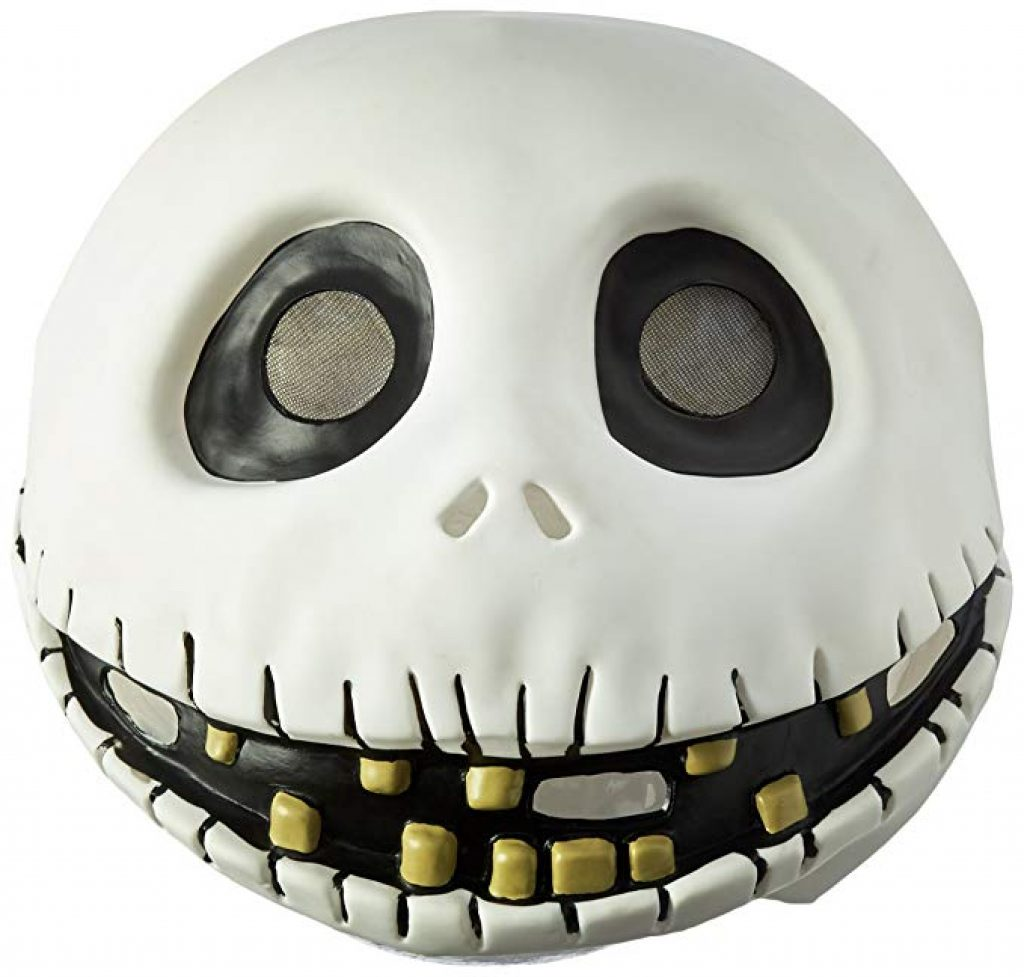 jack skellington costume mask