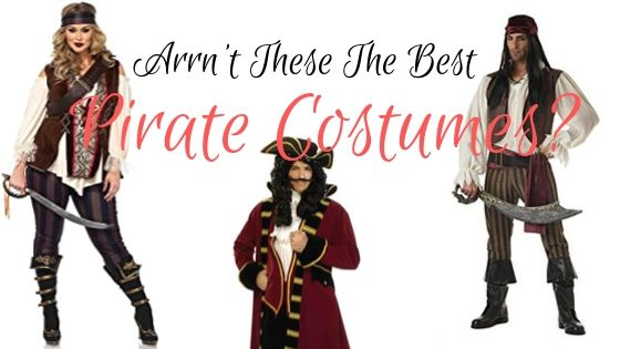 Arrrn't These the Best Pirate Costumes?
