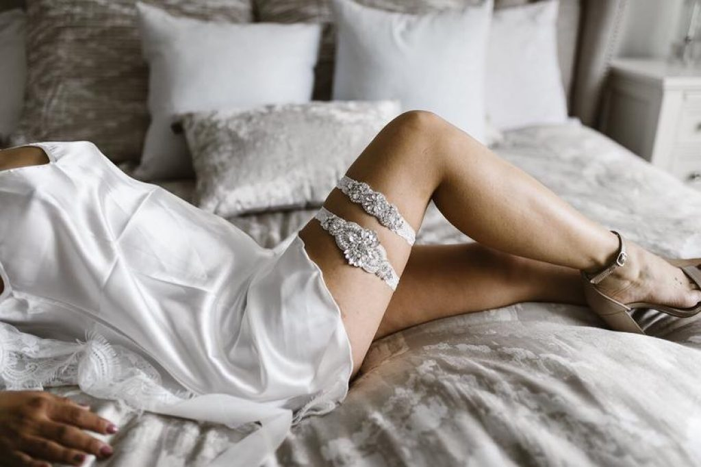 Grace Bridal Garter Set by OneFancyDay