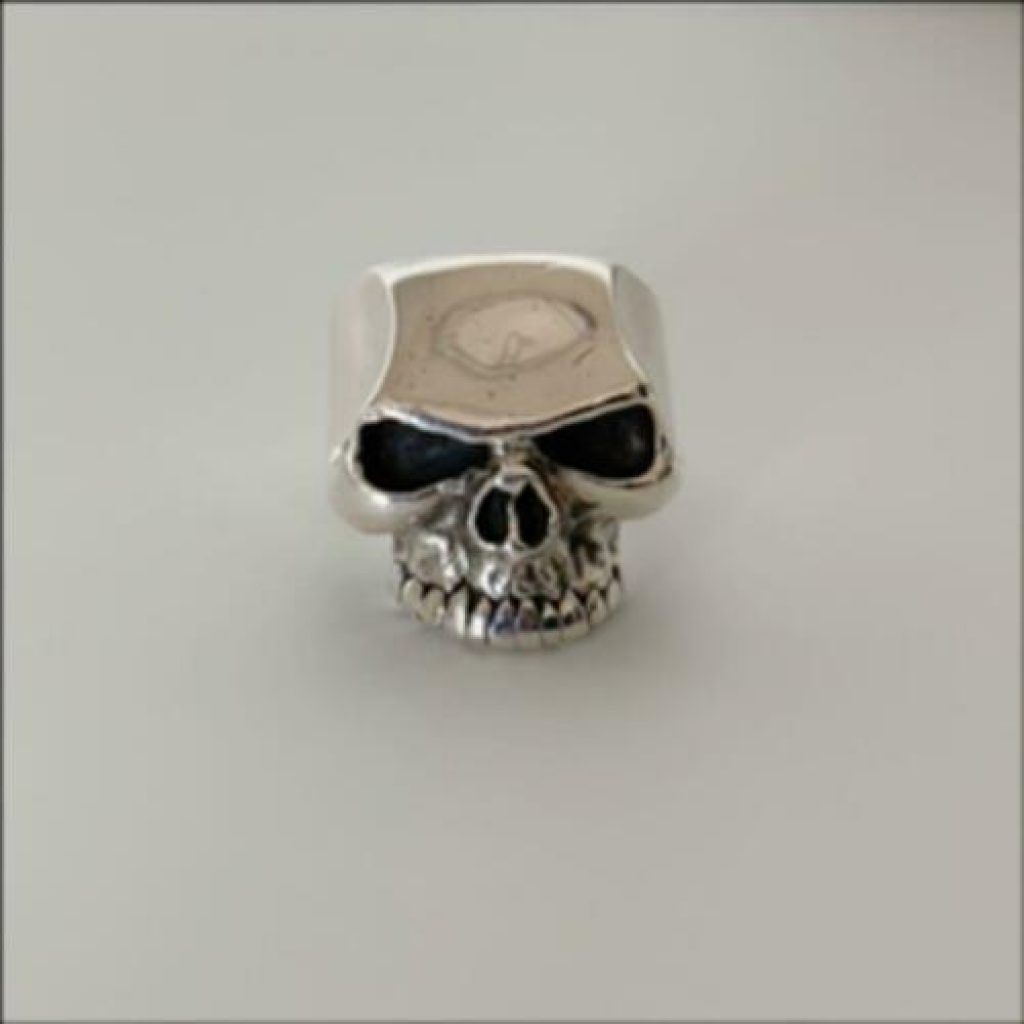 great frog biker ring gothic jewelry