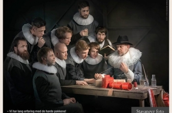 This Photographer Recreated Rembrandt with IKEA Products!