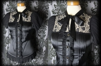 Get the Victorian Goth Look
