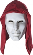 Deluxe Adult Anarky Latex Mask With Hood