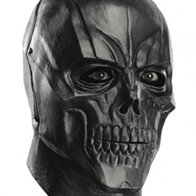 Deluxe Adult Black Mask Latex Mask