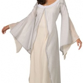 White Dress Deluxe Adult Arwen Costume – Lord of the Rings