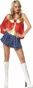 Rubie's Deluxe Womens Plus Size Long Dress Wonder Woman